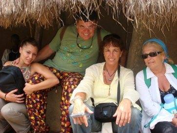 Grupo en aldea