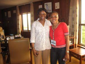 Yamasita y Christiana
