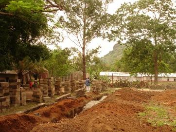 Cimientos casa 3