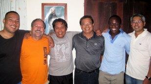 Misioneros con Raul