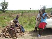 Voluntarios piedras